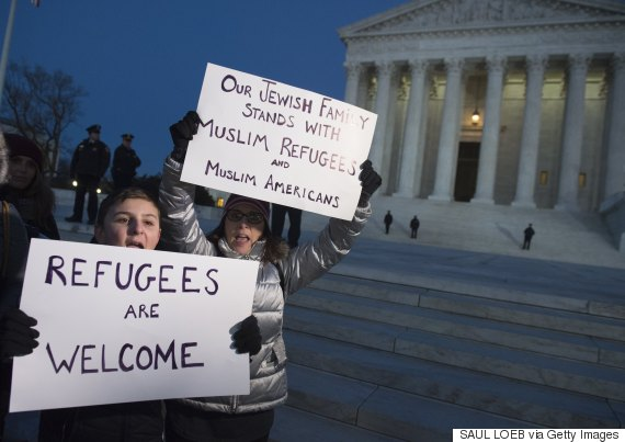 travel ban protest washington