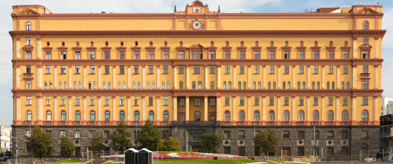 RUSSIAN INTELLIGENCE HEADQUARTERS