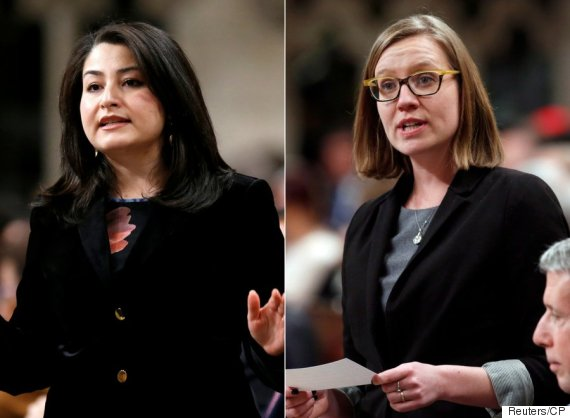 maryam monsef karina gould