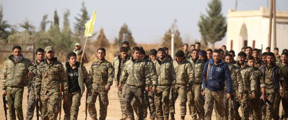 SYRIA KURDS FIGHTERS