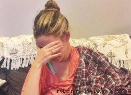 Dieses Foto zeigt einen emotionalen Moment, den nur stillende Mütter kennen