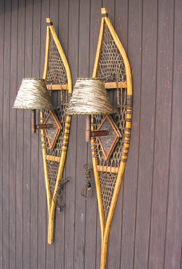 Custommade Curator Snow Shoes Sconces Huffpost
