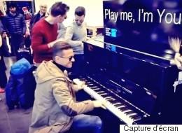 L'aéroport de Charleroi sous le charme d'un pianiste génial