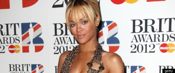 Rihanna Brit Awards
