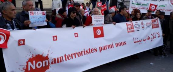 MANIFESTATION TUNISIA