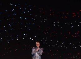 Comment ont été créées les centaines d'étoiles pour Lady Gaga à la mi-temps du Super Bowl