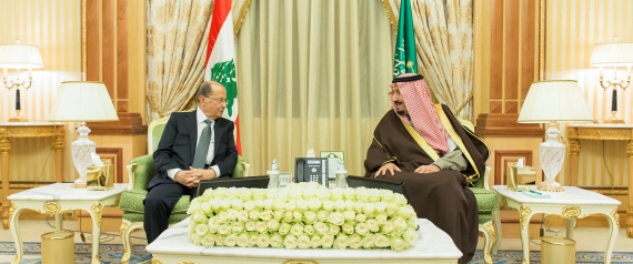 MICHEL AOUN IN SAUDI ARABIA