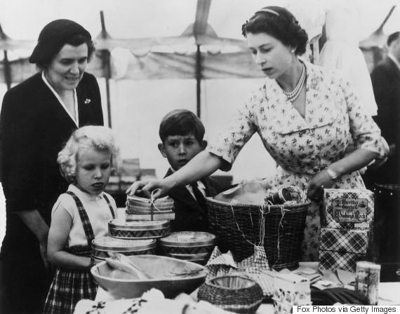 queen elizabeth ii 1955