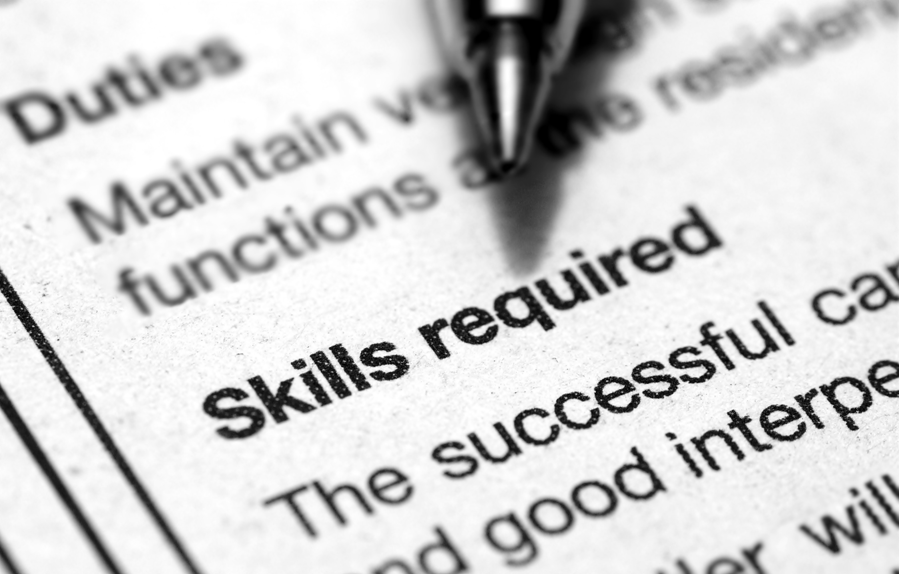 job resume - Skills For A Job Resume