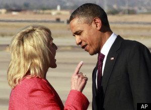 Jan Brewer Obama