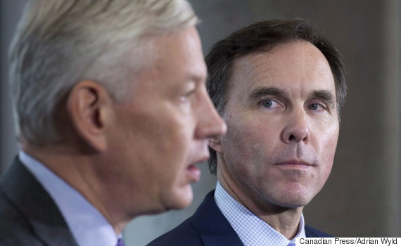 dominic barton bill morneau