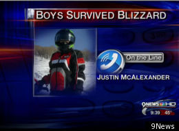 Teens Survive Blizzard