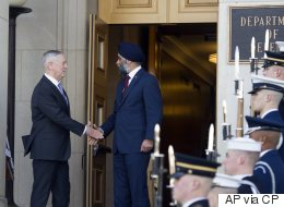 Sajjan Hints At New Military Funding After Meeting U.S. Counterpart