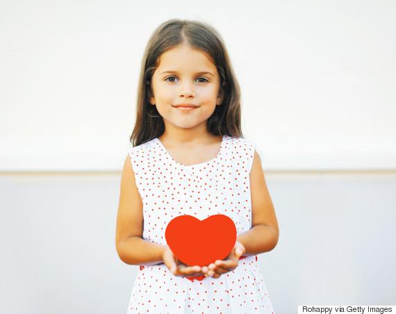 valentines day children