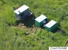 Aerial Photos Of Bodies Shock Calgary Triple Murder Trial