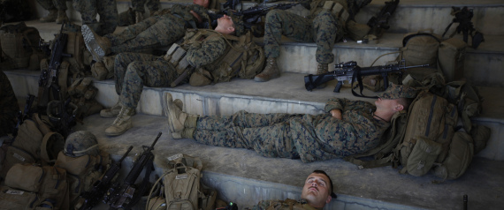 US MILITARY FORCES TIRING