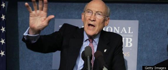 Alan Simpson Rick Santorum