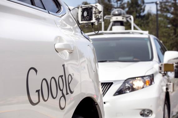 autonomous car google