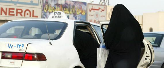SAUDI WOMEN CAR