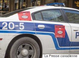 La saga des autocollants sur les voitures de police du SPVM n'est pas finie