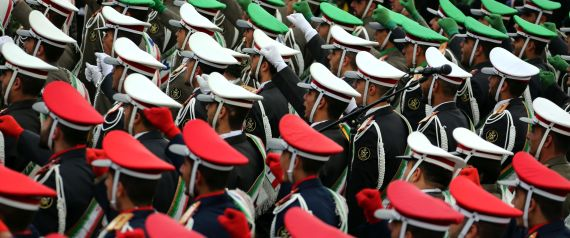 REVOLUTIONARY GUARD IN IRAN