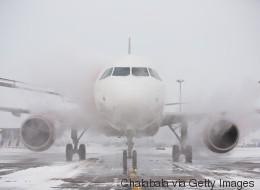 Tempête aux États-Unis: plusieurs vols annulés à l'aéroport Trudeau