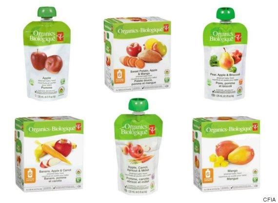 pc organics baby food