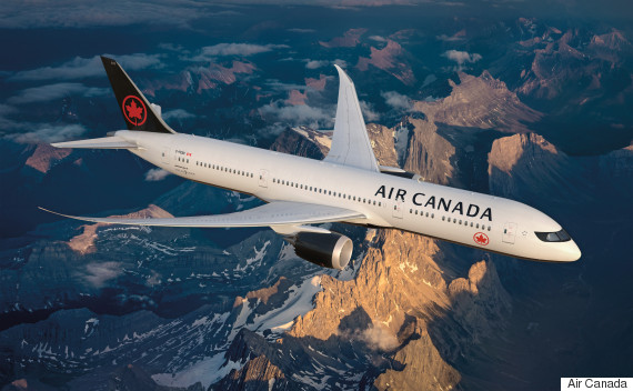 air canada new look