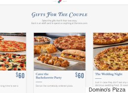 Domino's Now Has A Wedding Registry Because True Love Needs Pizza