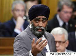 Sajjan Pressed On 'Danger Pay' Issue Impacting Troops In Kuwait