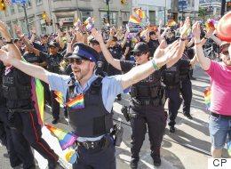 Toronto Police Won't March In Pride Parade