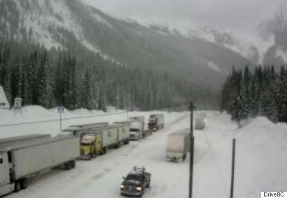 highway 1 rogers pass feb 10