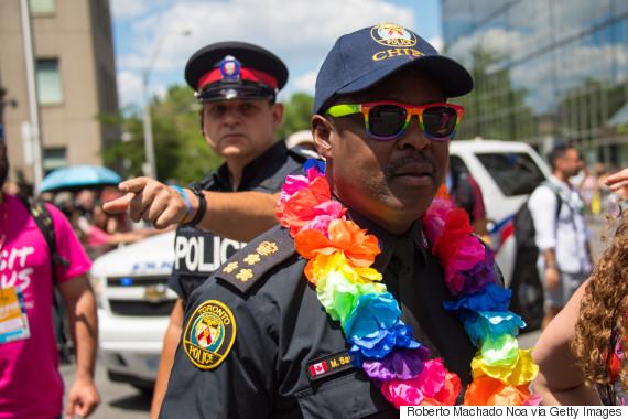 toronto police pride