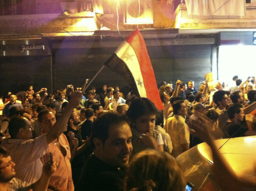 aleppo assad 2011