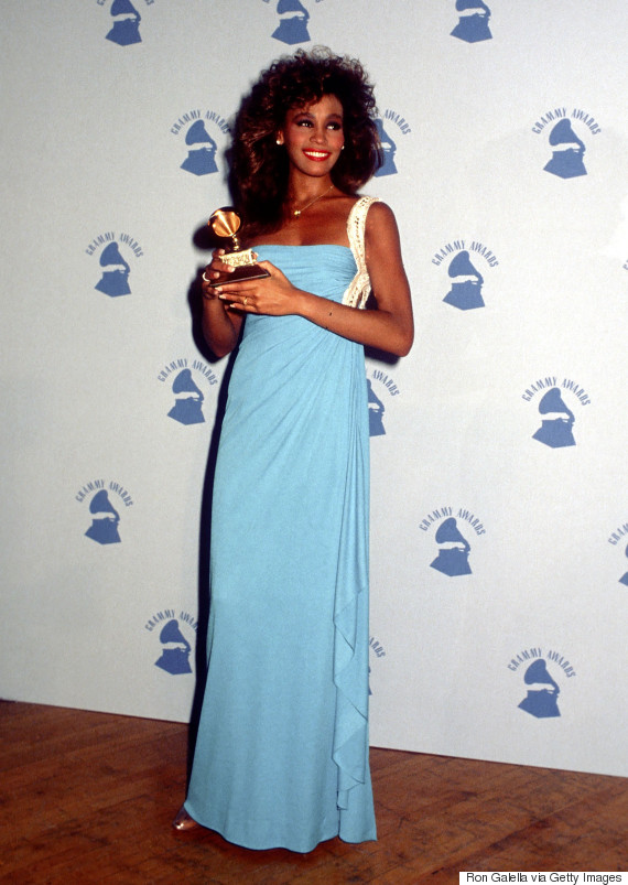 whitney houston grammys 1986
