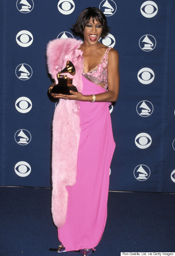 whitney houston grammys 2000