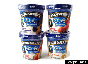 Ben Jerrys Greek Frozen Yogurt