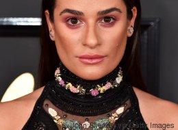 Mais que s'est-il passé avec le maquillage de Lea Michele?