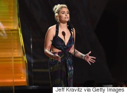 Paris Jackson Promotes #NoDAPL Protests At The Grammys
