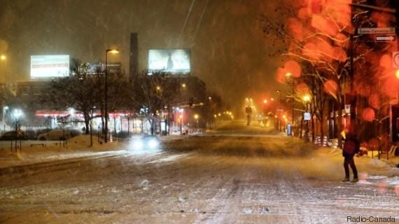 montreal neige