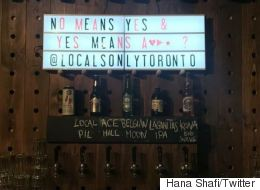 Toronto Bar Promotes Rape Culture, Internet Is Disgusted