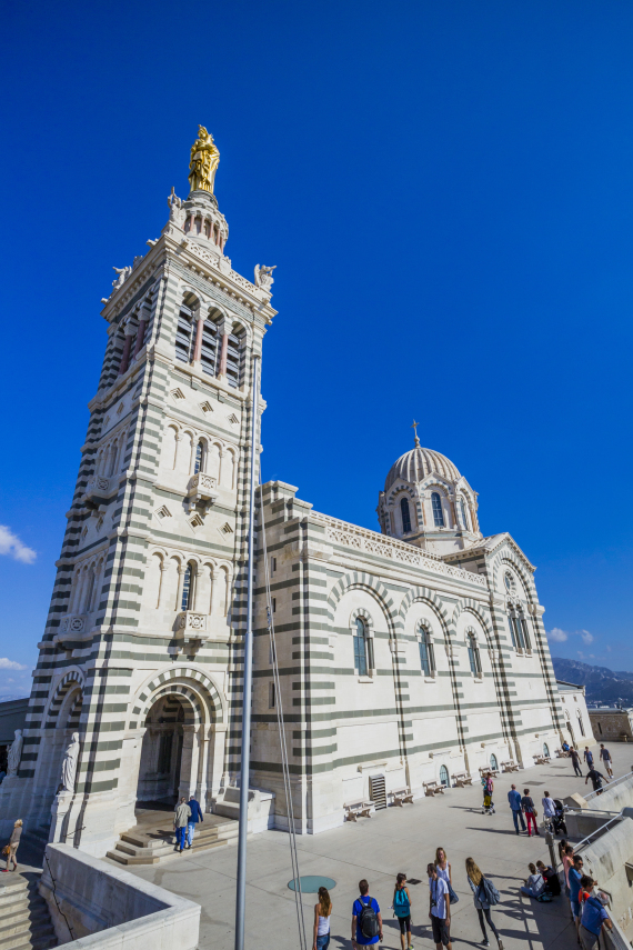 la garde basilica in marseille france