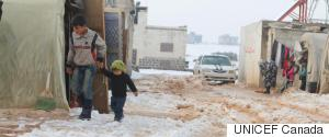 SYRIAN CHILDREN WINTER