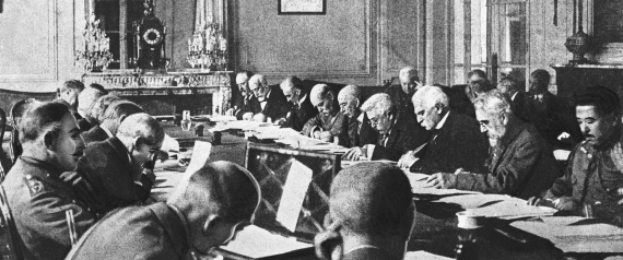 GOVERNMENT OFFICIALS DRAFTING THE TERMS OF THE TRE