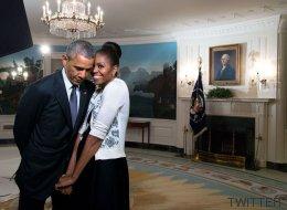 Obama derrite Twitter con su felicitación de San Valentín a Michelle