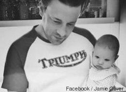 Jamie Oliver postet ein Bild mit seinem Baby - einige Eltern sehen die Katastrophe schon kommen - Video