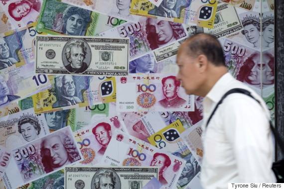 china yuan bills