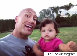 All The Times The Rock Proved He Was The Sweetest Dad
