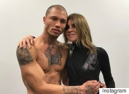 Jeremy Meeks, le détenu le plus sexy de la galaxie, a défilé à la Fashion Week de New York