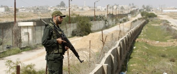 EGYPTIANPALESTINIAN BORDER